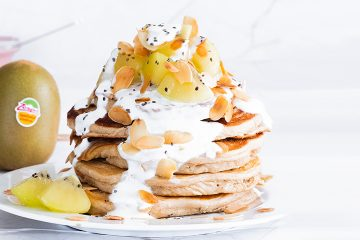 Tortitas de desayuno kiwis