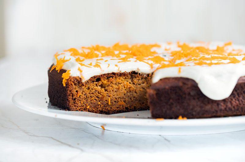 Receta carrot cake *Saludable