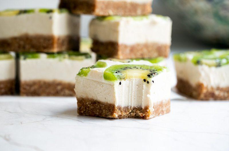 Receta snack de anacardo y kiwi