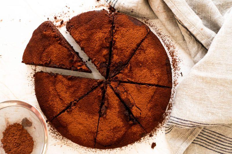 Tarta mousse de chocolate *4 ingredientes
