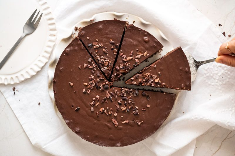 Tarta de nutella *Saludable