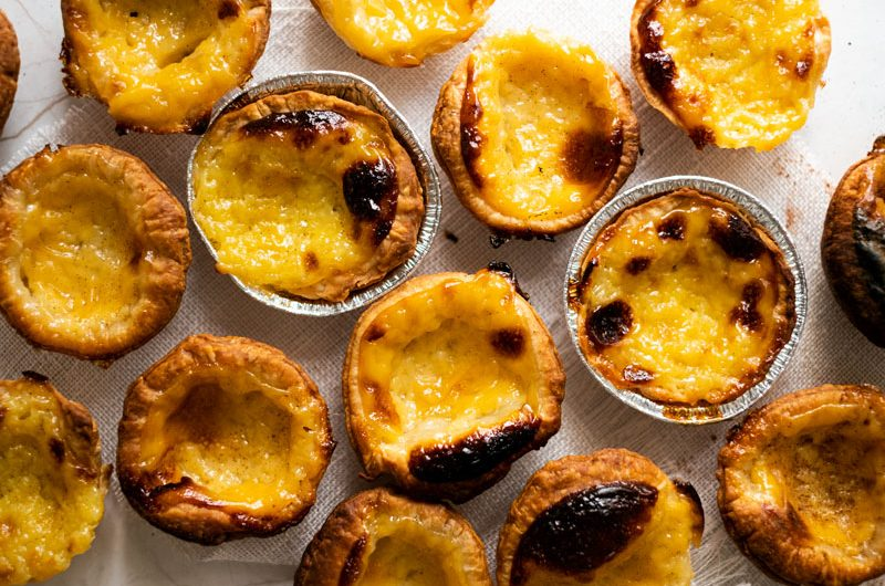 Pasteles de belem (pastéis de Belém)