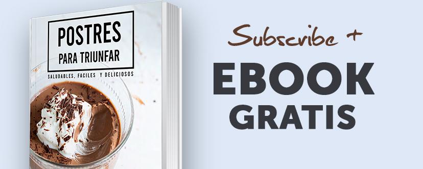 Subscríbete a mi newsletter y llévate un ebook gratis